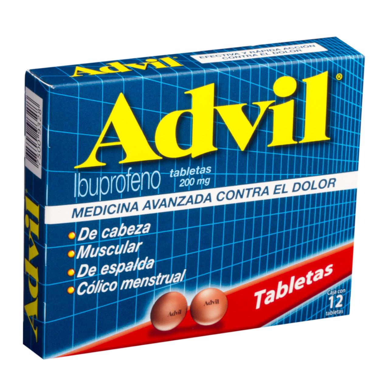Advil max para que es