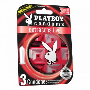 condones playboy extrasensible
