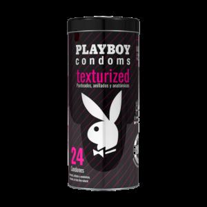 condones playboy texturizados