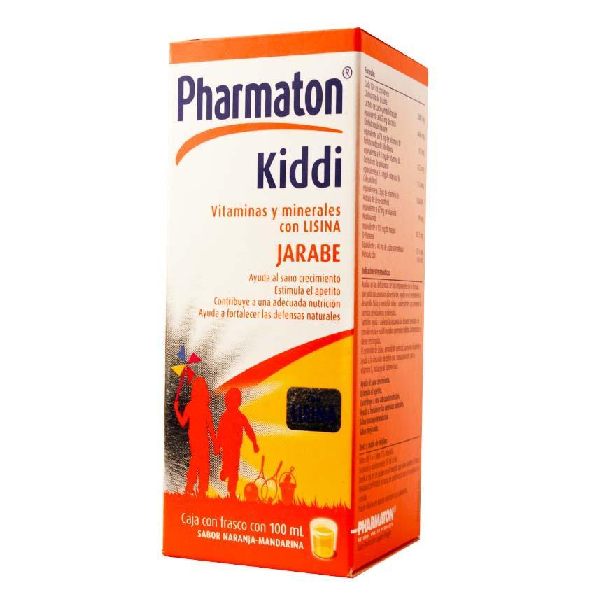 cuanto cuesta kiddi pharmaton jarabe