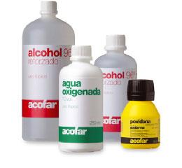 Productos antisepticos y desinfectantes