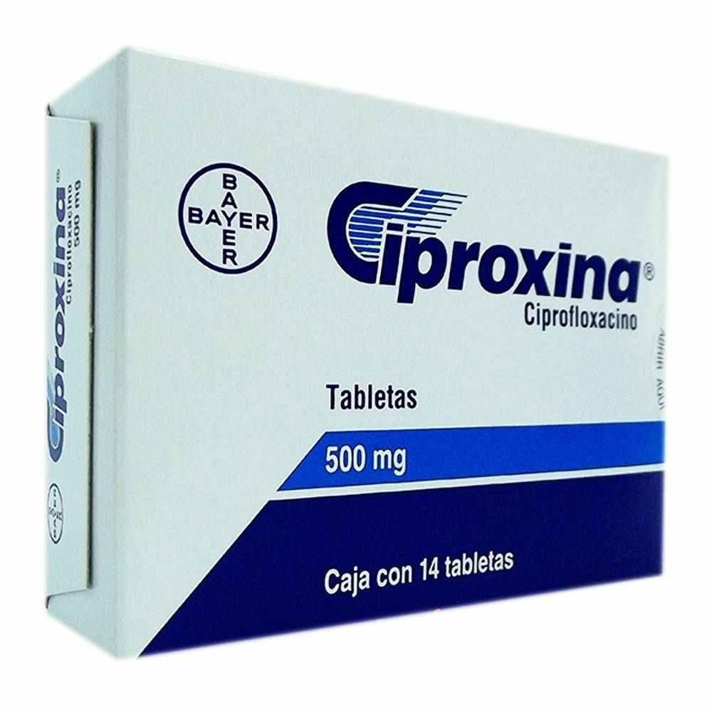 ciproxina y próstata