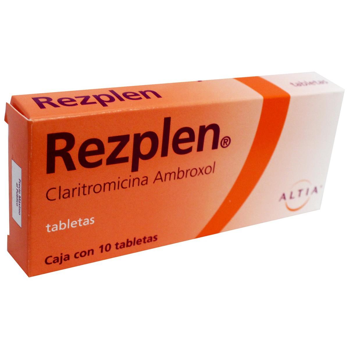 Rezplen Para Que Sirve Dosis Formula Y Generico