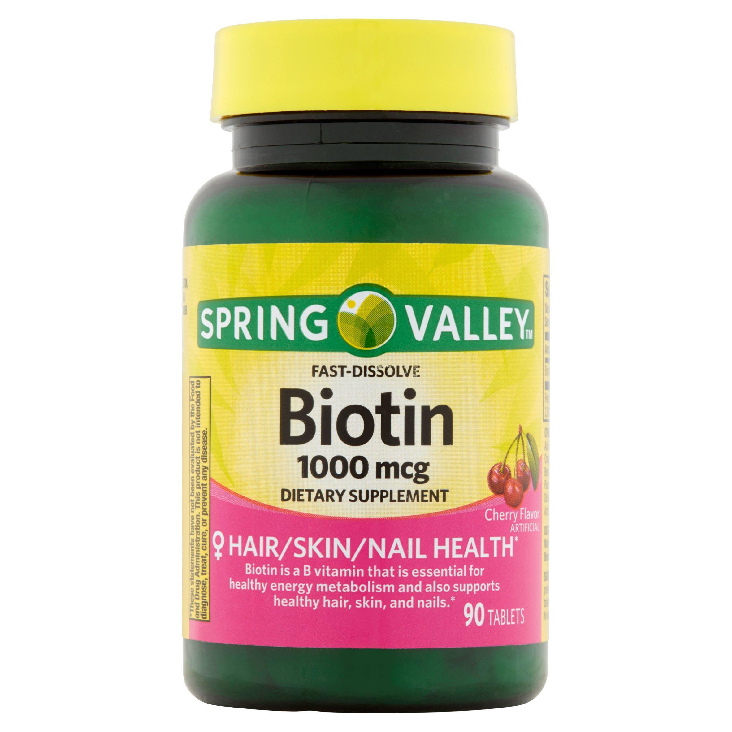 biotina beneficios para bajar de peso