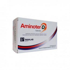 Cápsulas aminoter